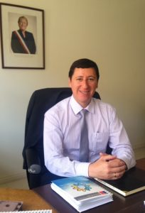 Luis Verdugo Ceron, Director de Obras Portuarias