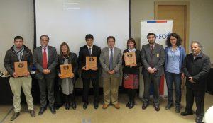 Profesores y autoridades presentes